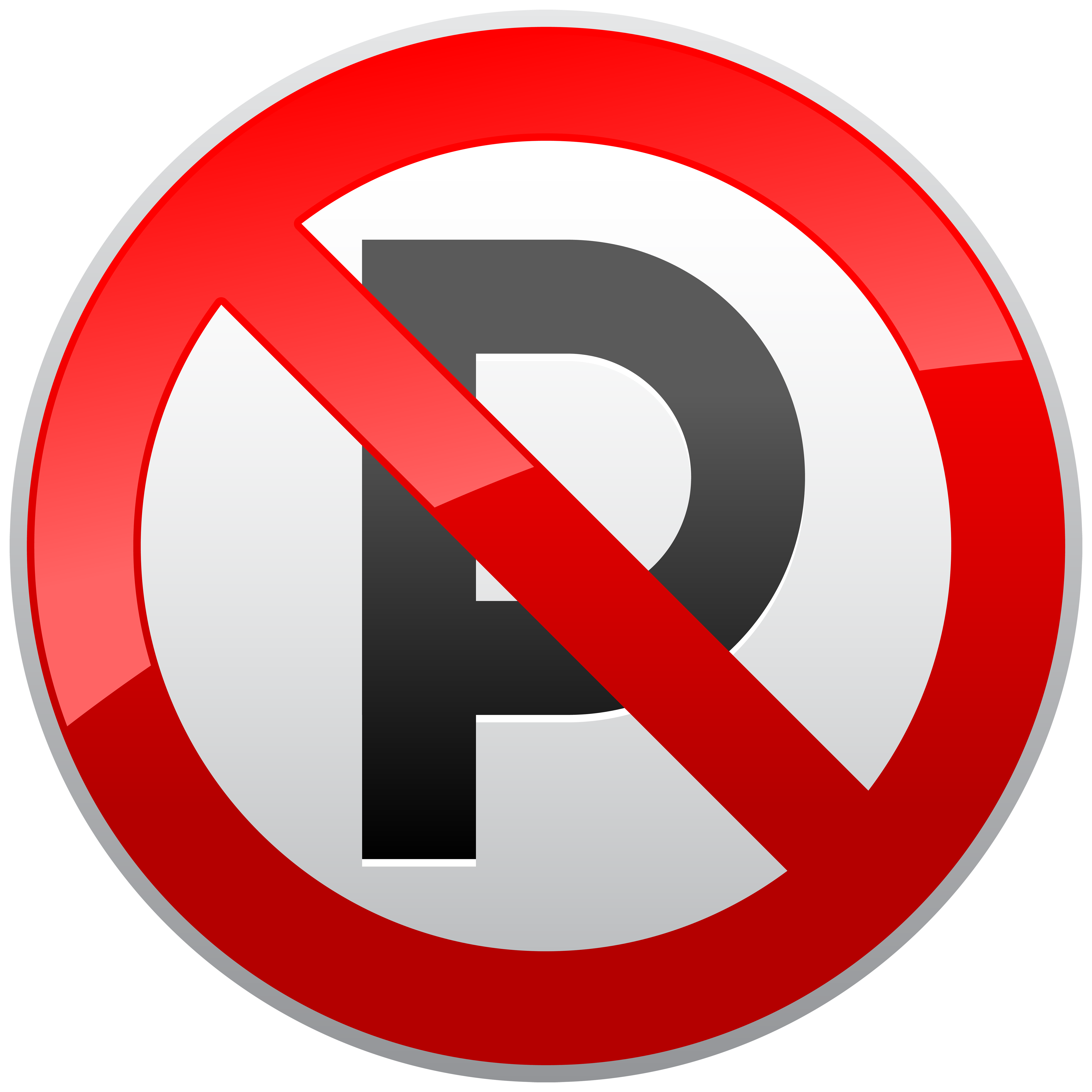 Car parking clipart svg royalty free No Parking Prohibition Sign PNG Clipart - Best WEB Clipart svg royalty free