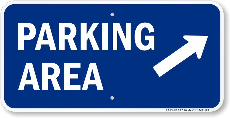 Car parking lot clipart banner Parking Lot Signs - Over 500 Stock and Custom Designs banner