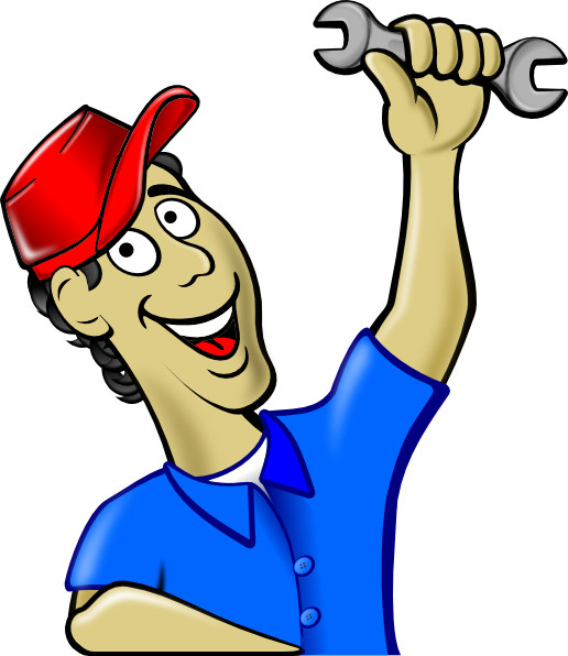 Mechanic working on car clipart vector transparent stock About Us vector transparent stock