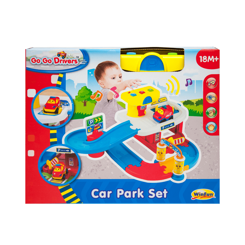Car play mat clipart graphic royalty free download Go Go Drivers Car Park Set - WinFun Toys - WinFun graphic royalty free download