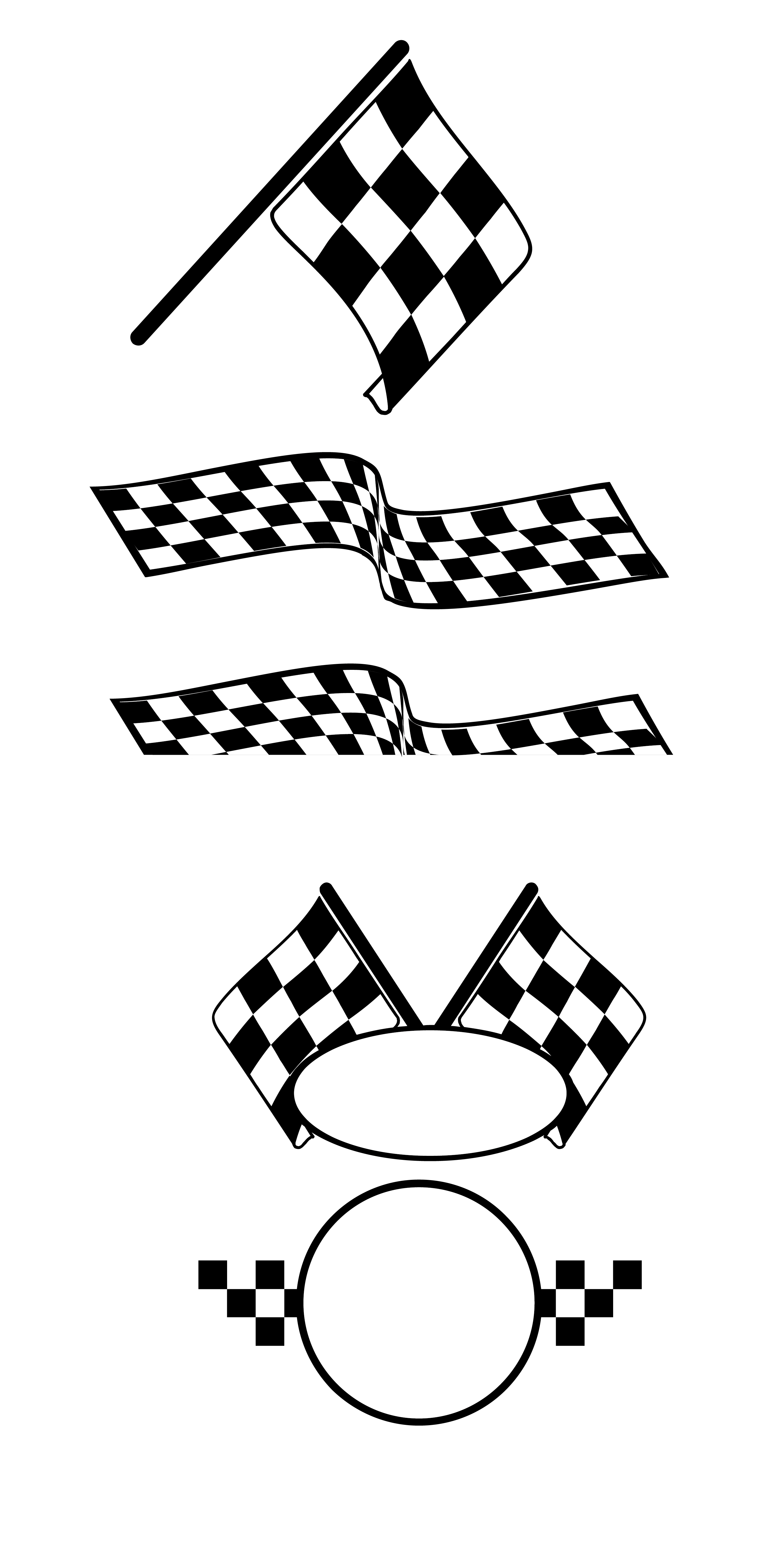 Car racing flags clipart graphic royalty free download Auto racing Racing flags - Vector,Cartoon,pattern,Racing car,banner ... graphic royalty free download