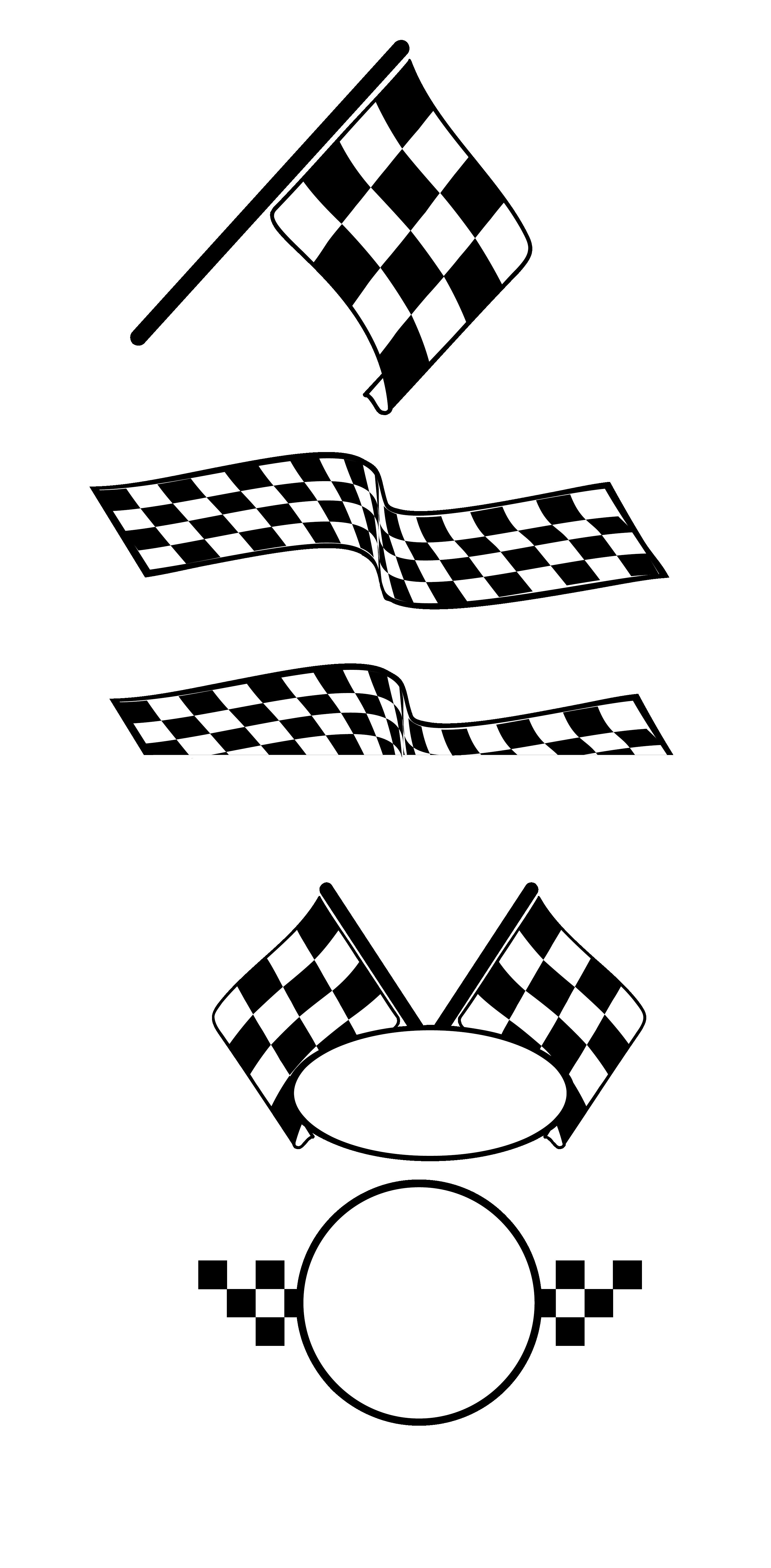 Car race flags clipart jpg stock Auto racing Racing flags - Vector,Cartoon,pattern,Racing car,banner ... jpg stock