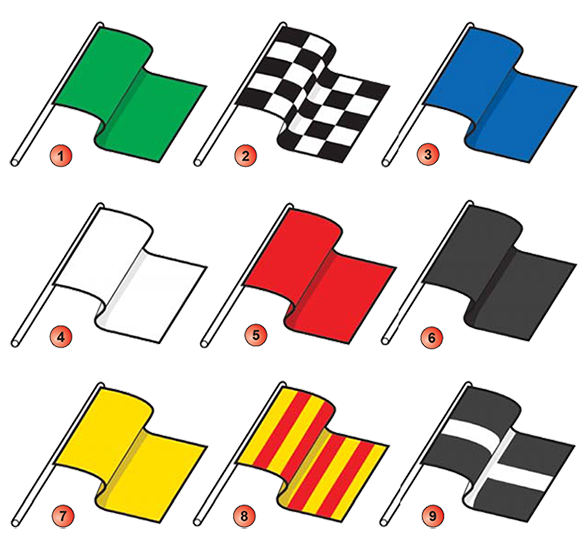 Car racing flags clipart banner freeuse library Flags banner freeuse library