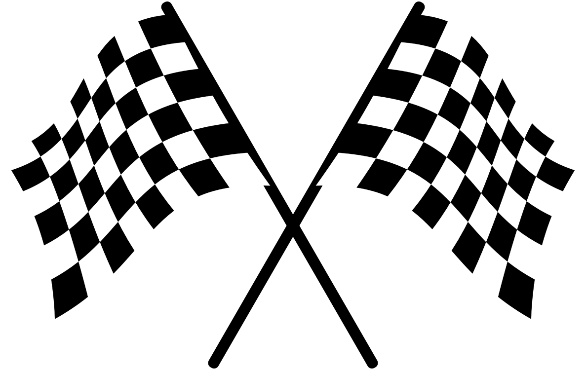 Car race flags clipart picture black and white library Racing flags Auto racing Clip art - Racing flag 1187*750 transprent ... picture black and white library