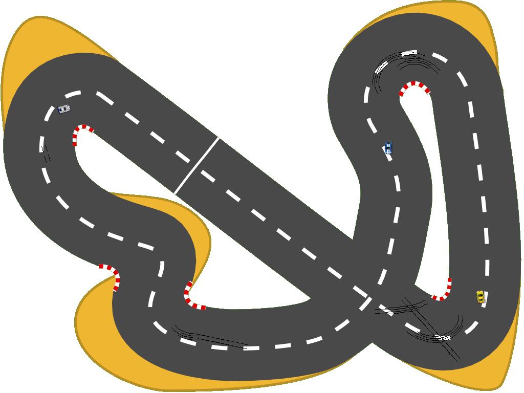 Car track clipart