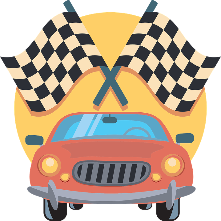 Car race track clipart picture freeuse Crafting with Kids: Popsicle Stick Race - Mansfield Richland County ... picture freeuse