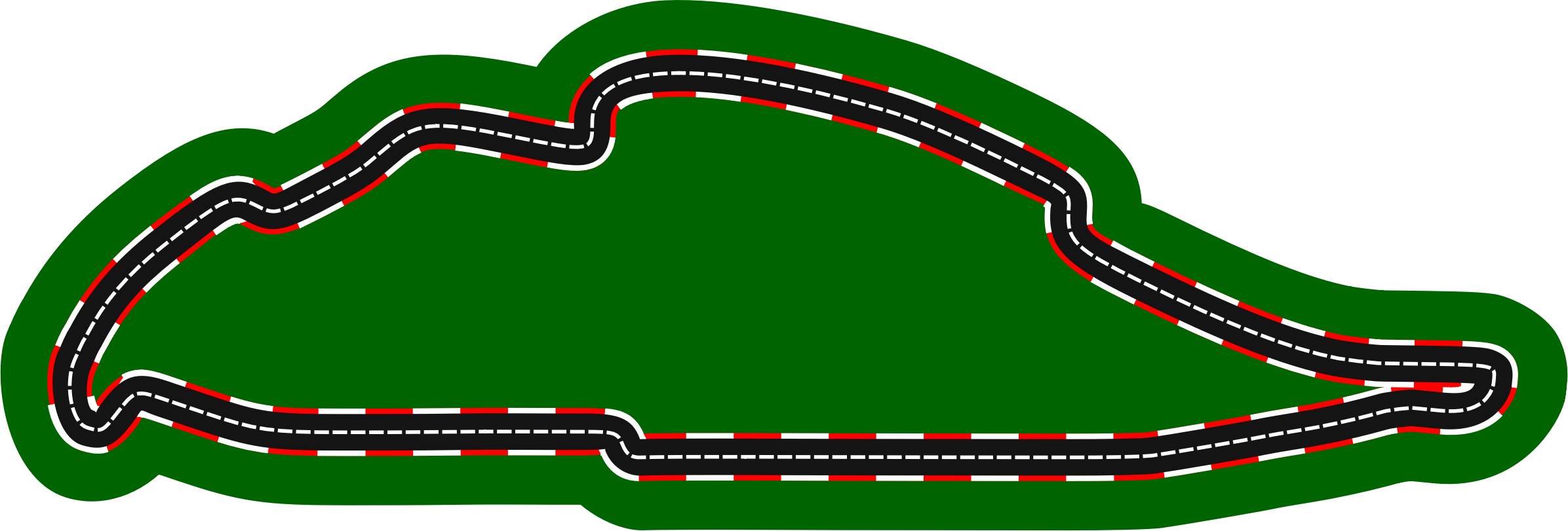 Car race track clipart jpg royalty free library Clipart - F1 circuits 2014-2018 - Circuit Gilles Villeneuve (version 2) jpg royalty free library