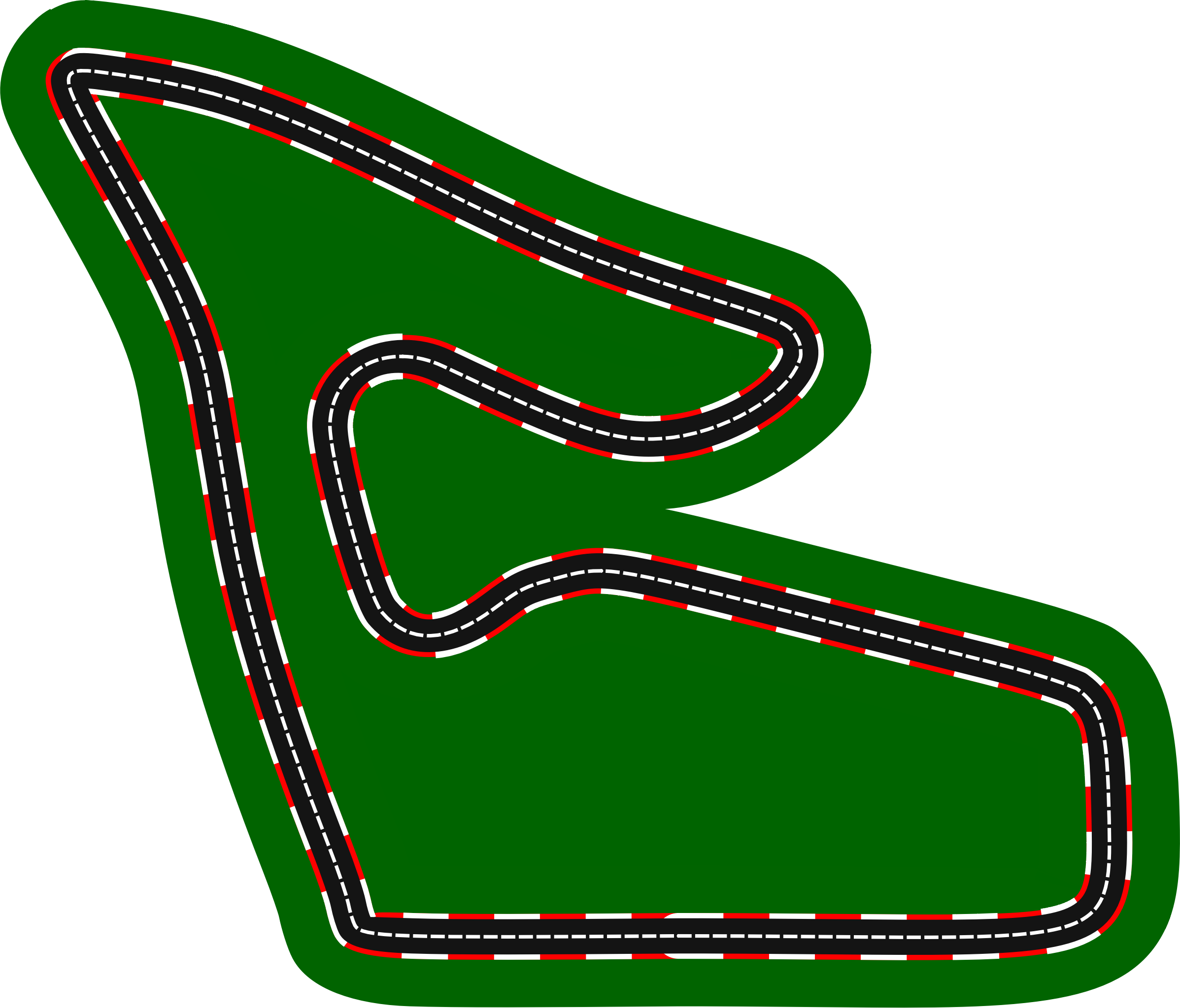 Car track clipart clip transparent library Clipart - F1 circuits 2014-2018 - Red Bull Ring clip transparent library
