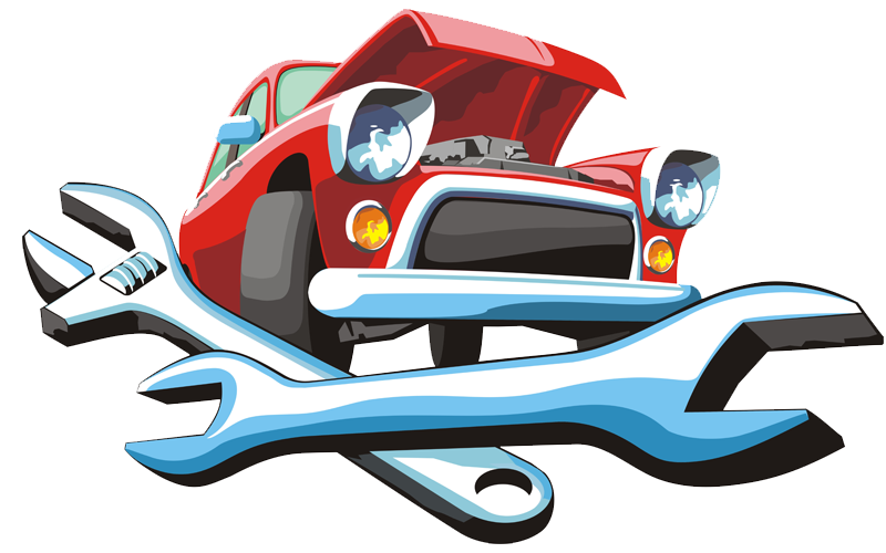 Car with wrench clipart png download Car Automobile repair shop Auto mechanic Motor Vehicle Service Clip ... png download