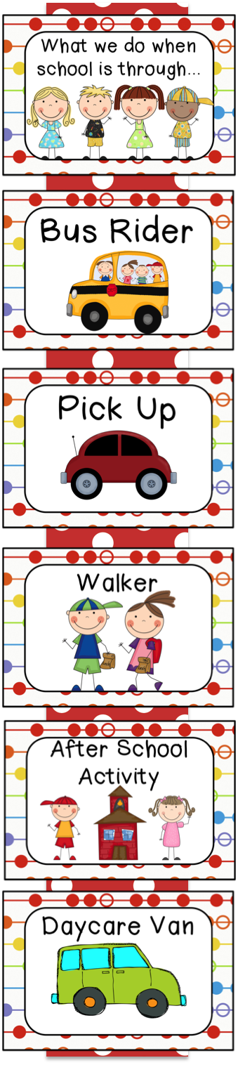 Car rider clipart jpg free stock How we go home. Could make something similar, just no Bus and with ... jpg free stock