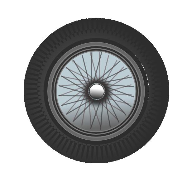 Car rim clipart graphic library Classic Car Wheel 2 Clip Art at Clker.com - vector clip art online ... graphic library