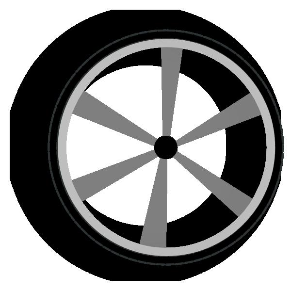Car rim clipart vector royalty free download Wagon Wheel Gray Clip Art at Clker.com - vector clip art online ... vector royalty free download