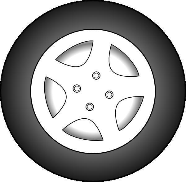 Car rim clipart svg black and white download Wheel Chrome Rims Clip Art at Clker.com - vector clip art online ... svg black and white download