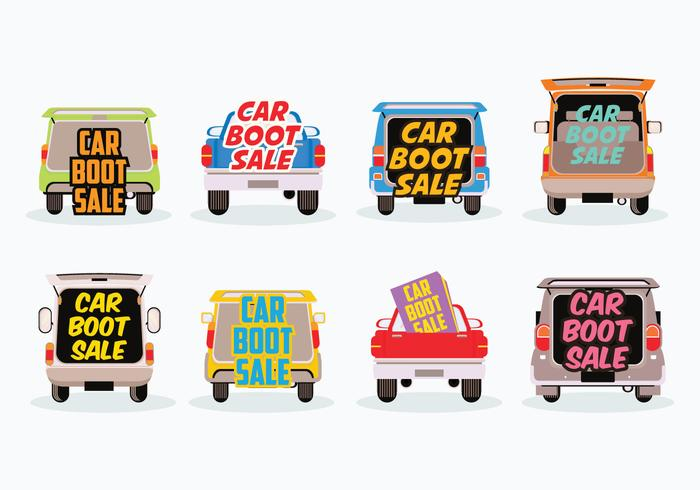 Car sale clipart graphic Free Car Boot Sale Vector - Download Free Vector Art, Stock Graphics ... graphic