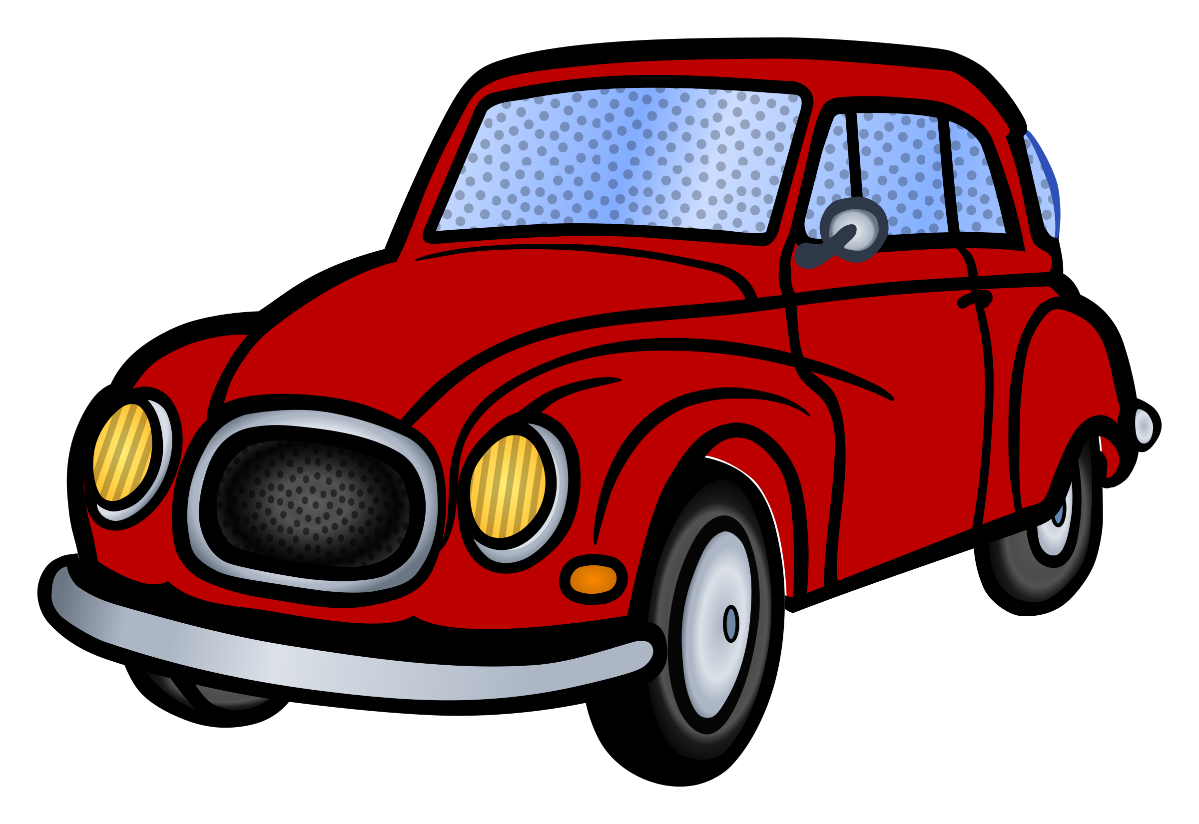 Car with hood open clipart vector royalty free stock Clipart - car - coloured vector royalty free stock