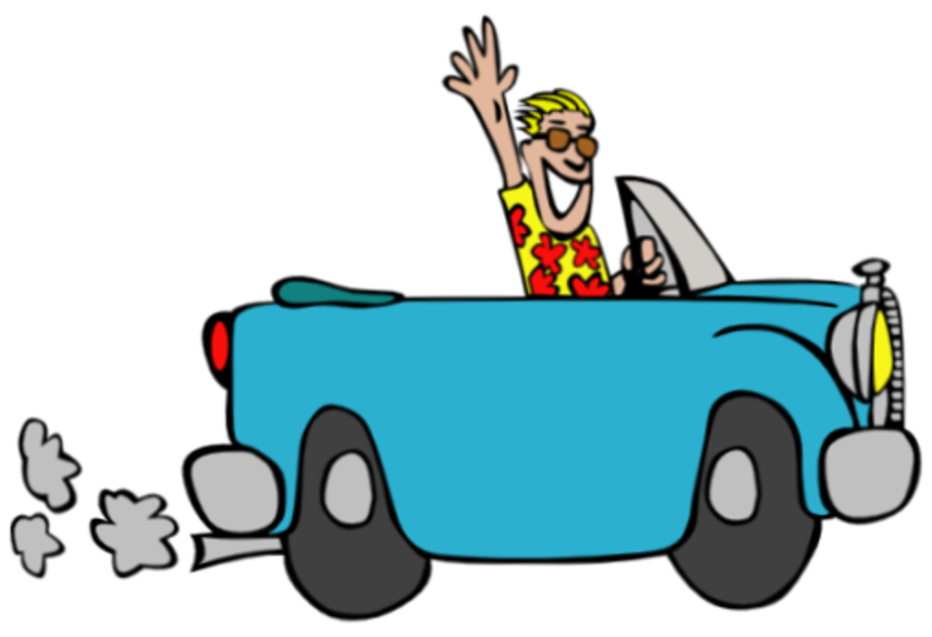 Car school pick up clipart graphic black and white library Pick-up and Drop-off Procedures | Armand R. Dupont School graphic black and white library