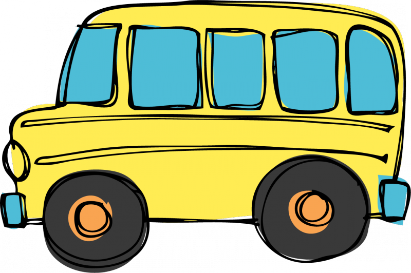 Car school pick up clipart vector library Community Christian Church - Ministries - Bus Pick-up vector library