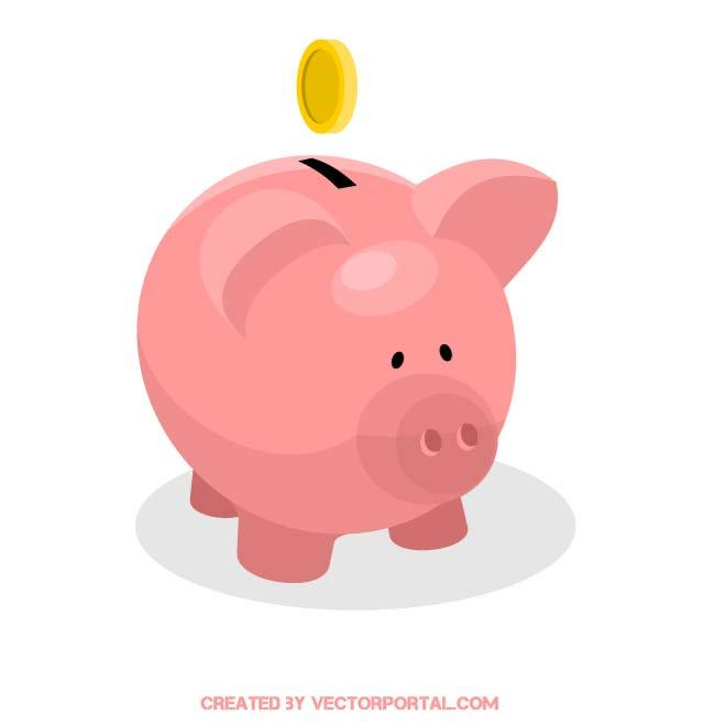 Car shaped piggy bank clipart clipart black and white library PIGGY BANK CLIP ART - Download at Vectorportal clipart black and white library