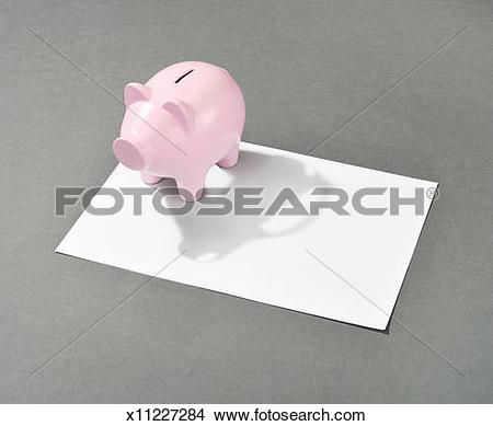 Car shaped piggy bank clipart clip art freeuse stock Stock Photo of Piggy bank with a car shaped shadow x11227284 ... clip art freeuse stock