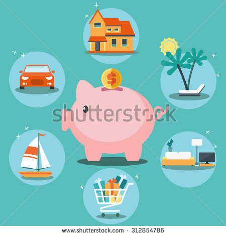 Car shaped piggy bank clipart banner black and white download Coin Bank Stock Images, Royalty-Free Images & Vectors | Shutterstock banner black and white download