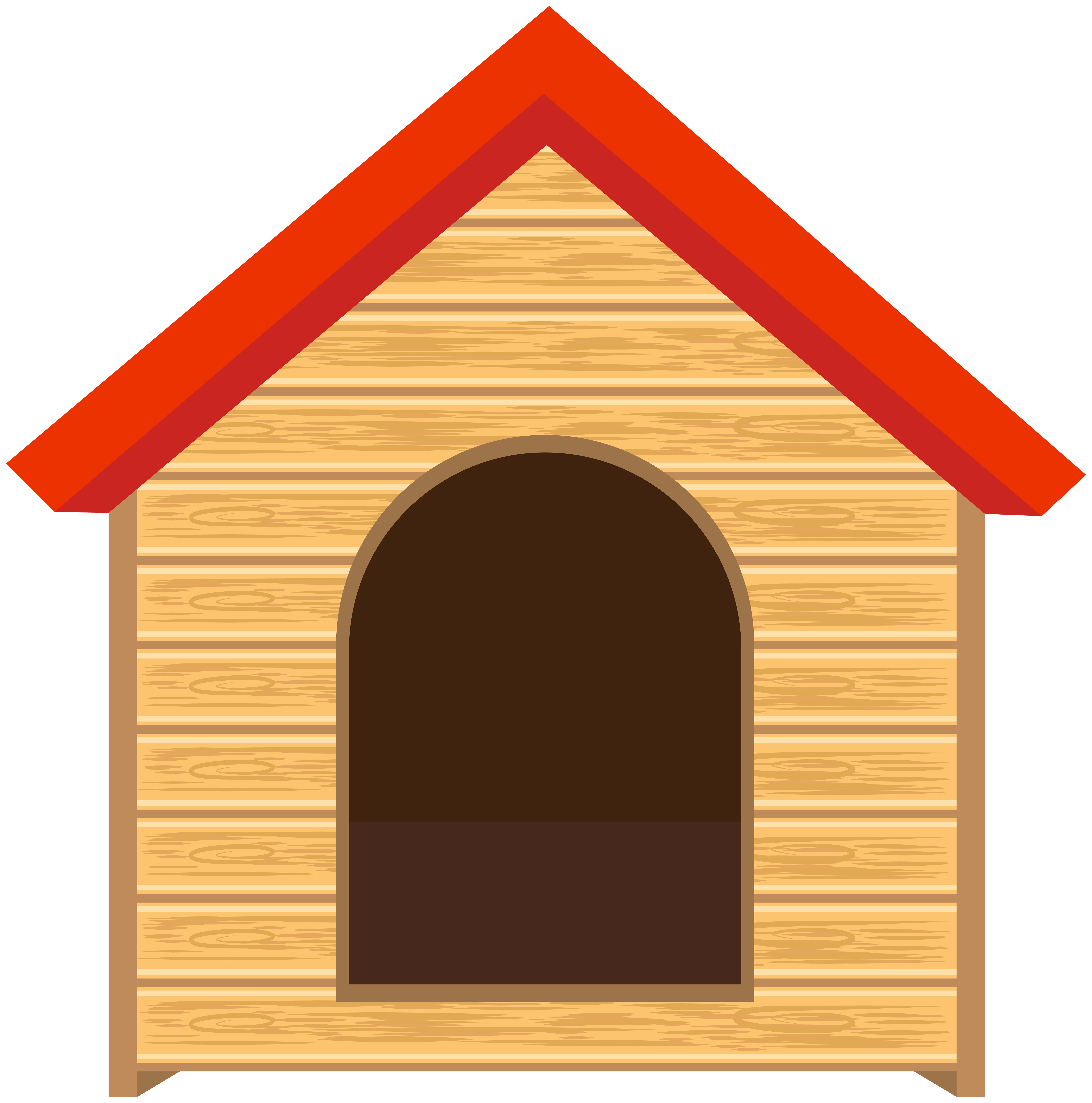 Dogs house clipart clip art transparent library Doghouse PNG Clip Art Image - Best WEB Clipart clip art transparent library