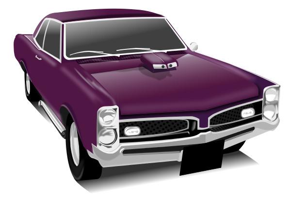 Car show muscle car clipart vector royalty free library Purple Car Clipart - Clipart Kid vector royalty free library