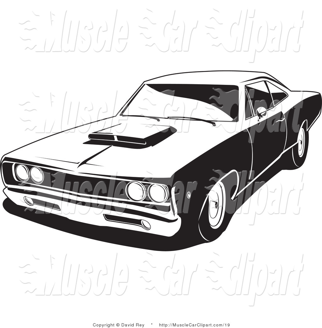 Car show muscle car clipart free Car Show Black And White Clipart - Clipart Kid free