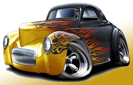 Car show muscle car clipart image royalty free library Hot car clipart - ClipartFox image royalty free library