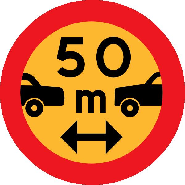 Car sign clipart banner royalty free download 50m Between Cars Sign Clip Art at Clker.com - vector clip art online ... banner royalty free download