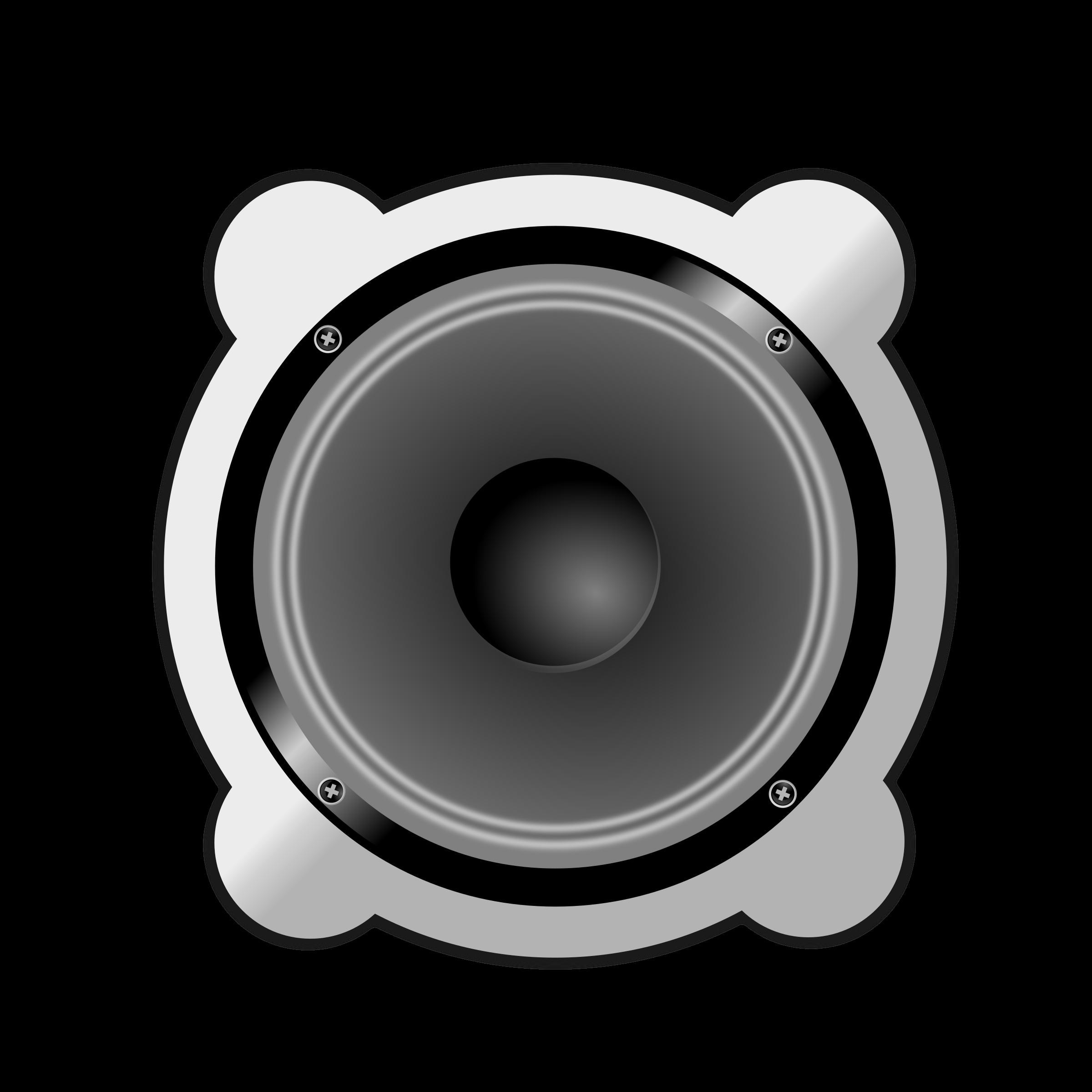 Car speaker clipart clip library Clipart - Speaker clip library