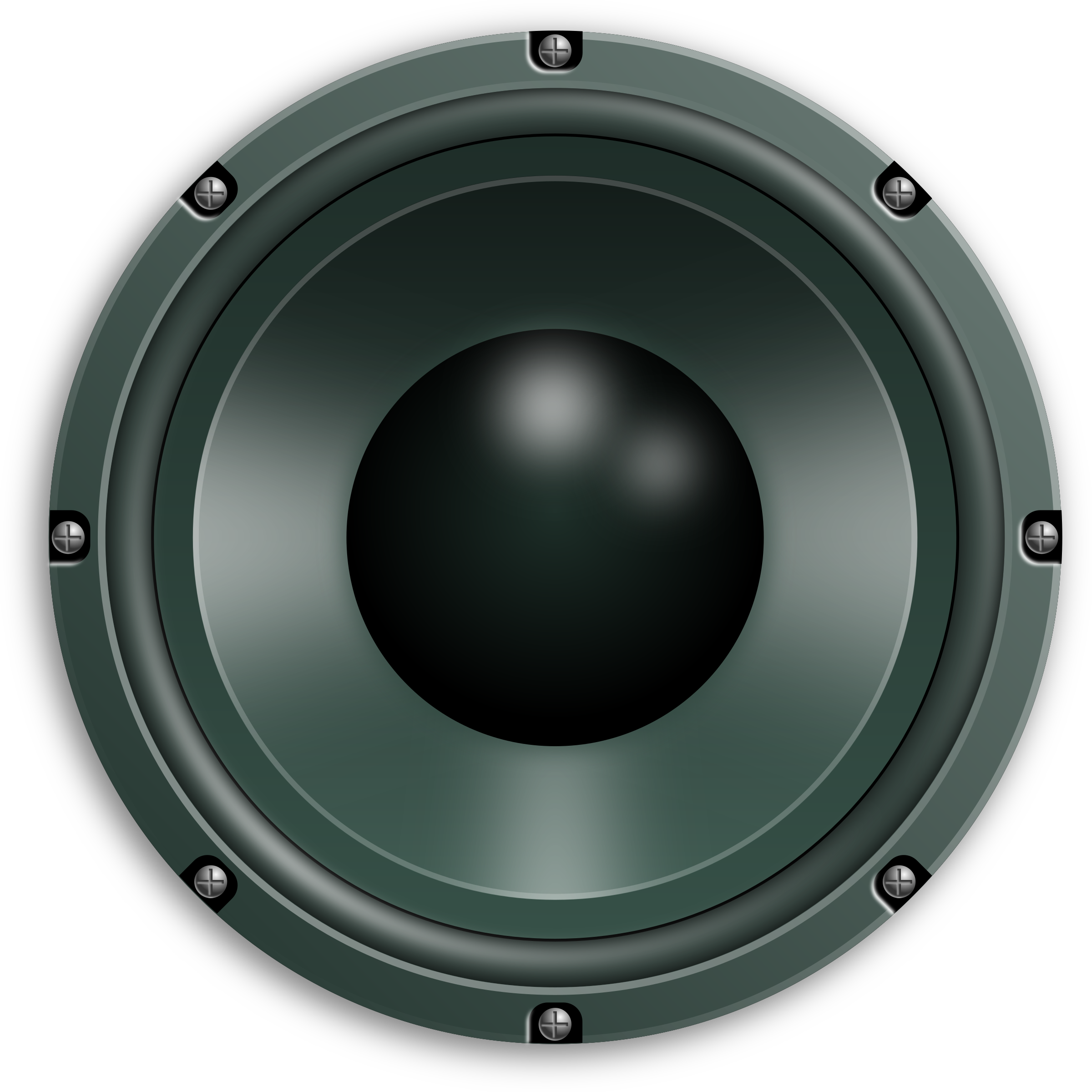 Car speakers clipart clip black and white library Audio Speaker PNG Image - PurePNG | Free transparent CC0 PNG Image ... clip black and white library