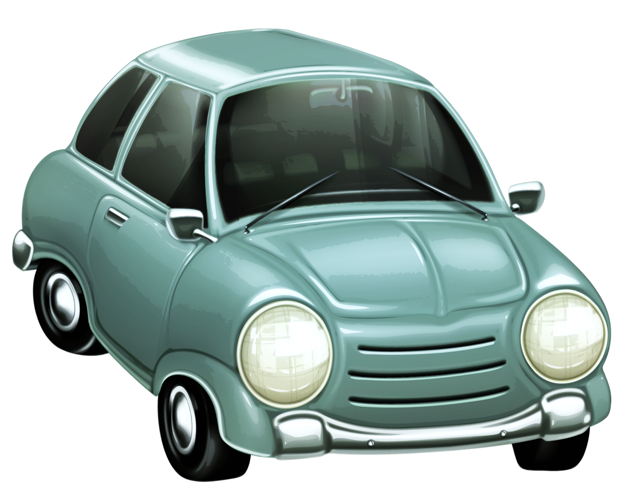 Car speeding away clipart clipart freeuse library Mini Clipart cute car - Free Clipart on Dumielauxepices.net clipart freeuse library