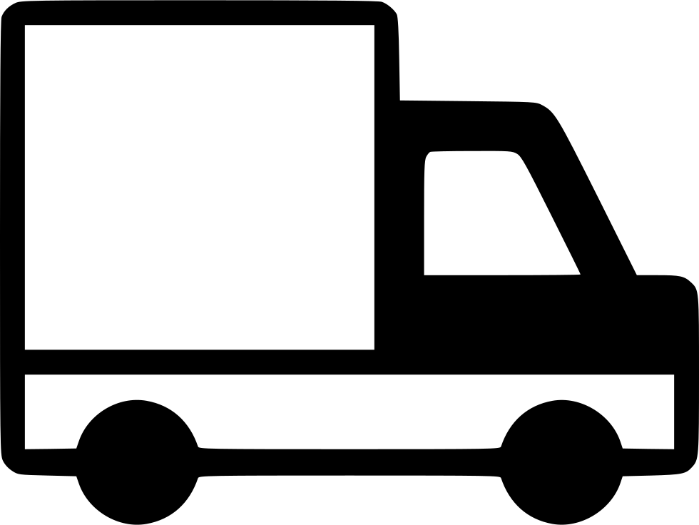 Car speeding off clipart clip art black and white Truck Lorry Wagon Vehicle Traffic Camion Svg Png Icon Free Download ... clip art black and white