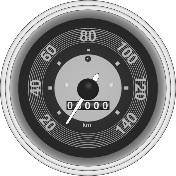 Car speedometer clipart vector download Speedometer Clip Art at Clker.com - vector clip art online, royalty ... vector download