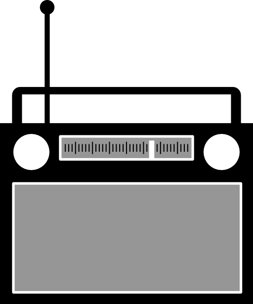 Car stereo clipart picture transparent stock Simple Radio Clipart | i2Clipart - Royalty Free Public Domain Clipart picture transparent stock