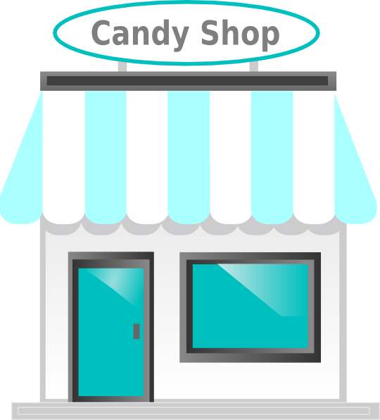 Car store clipart picture black and white stock 28+ Collection of Shop Front Clipart | High quality, free cliparts ... picture black and white stock