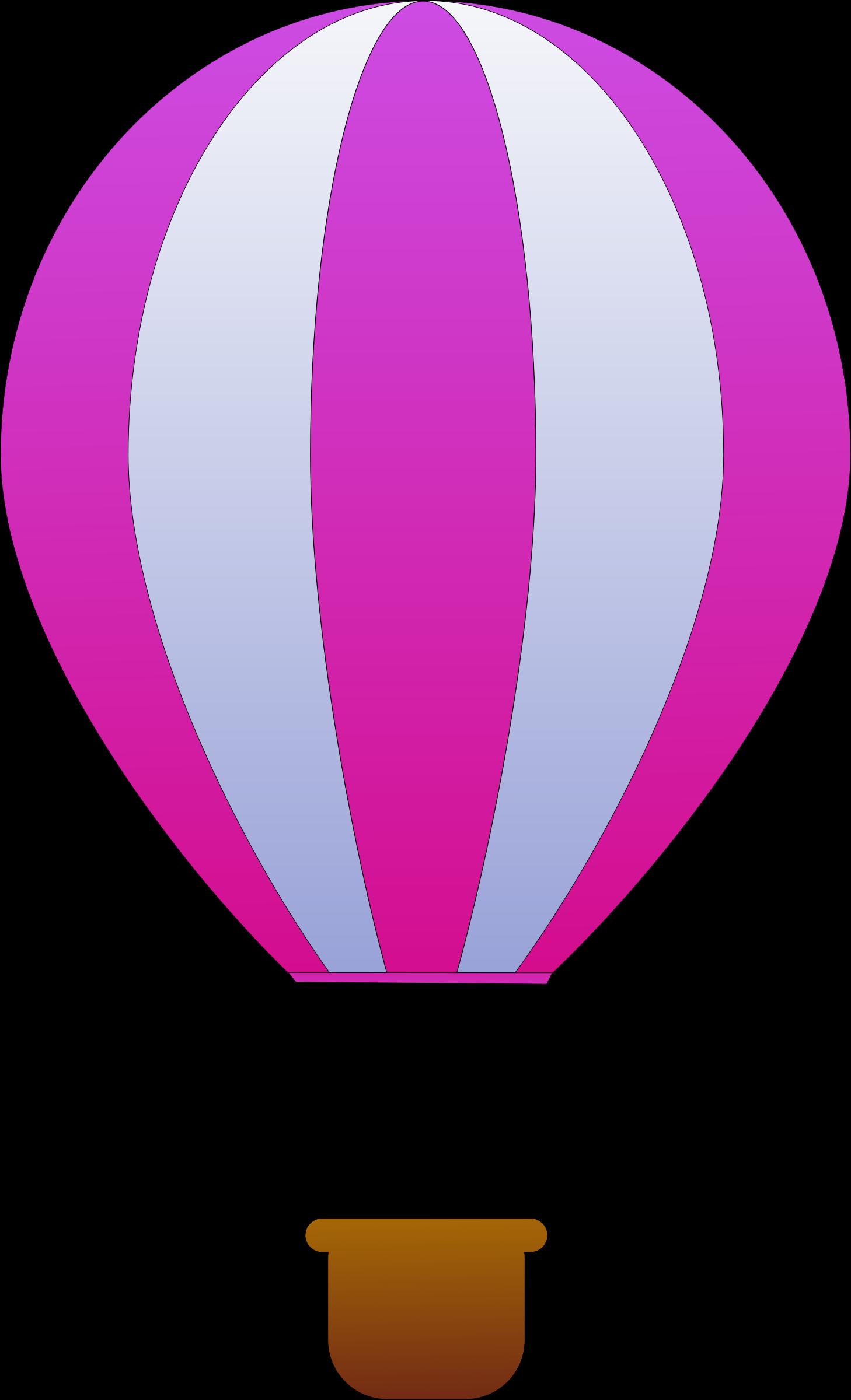 Car stripe clipart clip art royalty free stock Clipart - Vertical Striped Hot Air Balloons 3 clip art royalty free stock