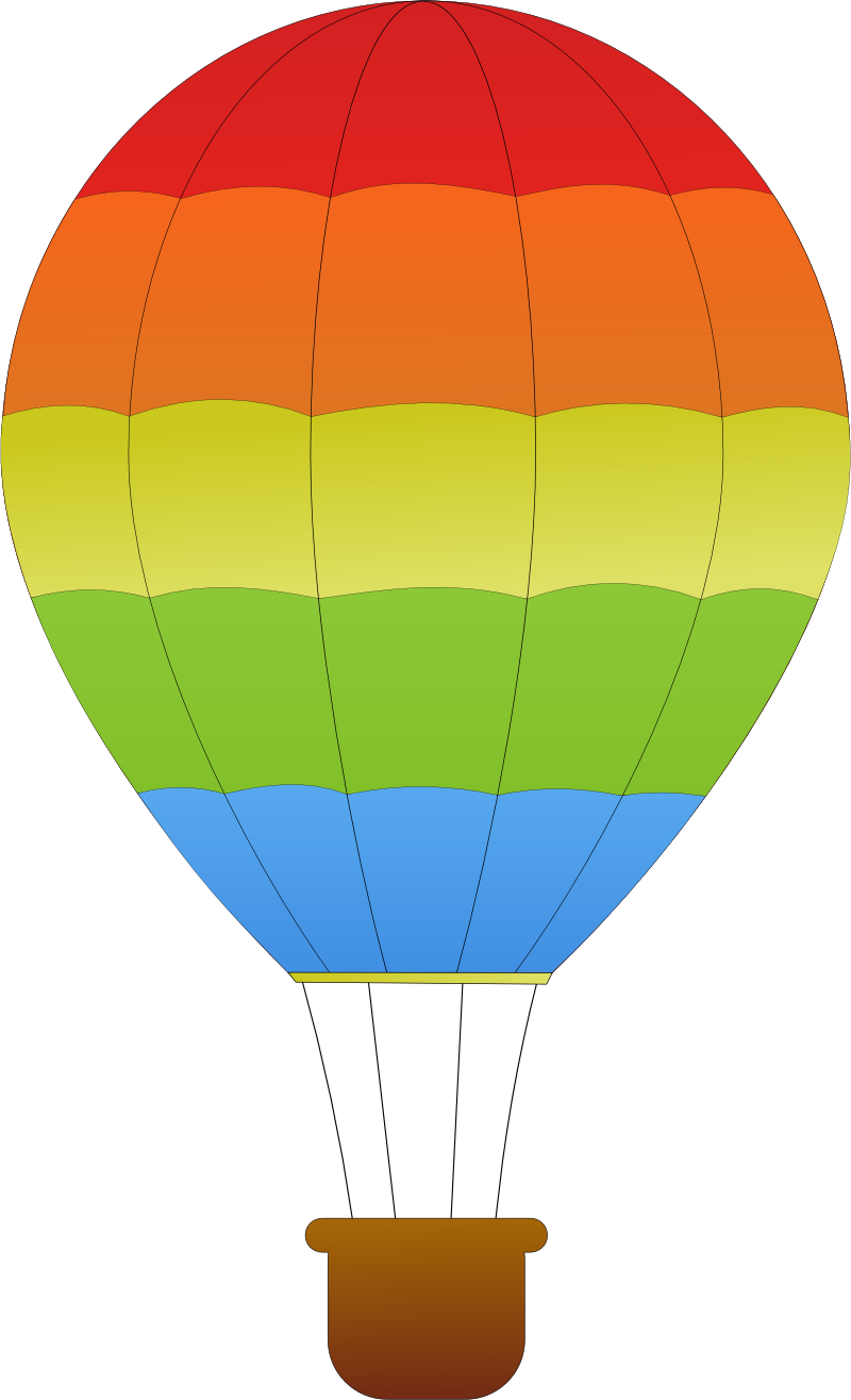Car stripe clipart png library library horizontal striped hot air balloons SVG - ClipArt Best - ClipArt ... png library library