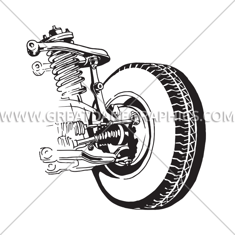 Car suspension clipart png freeuse Car Suspension | Production Ready Artwork for T-Shirt Printing png freeuse