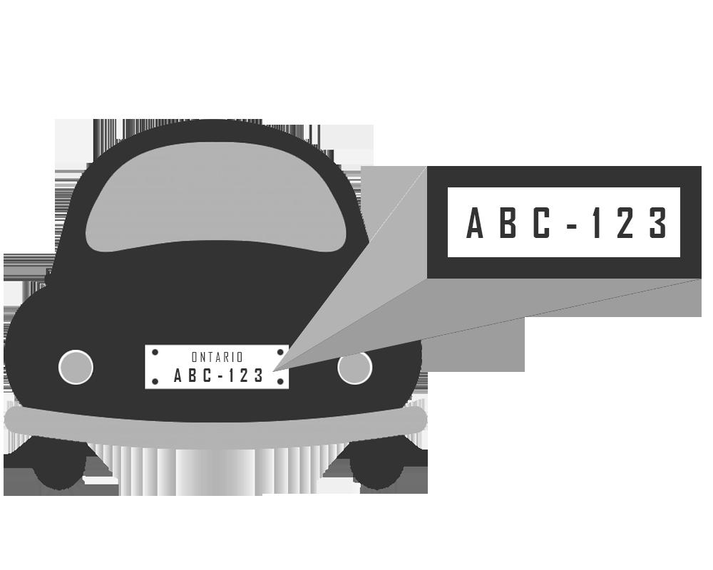 Car tag clipart image download License Plate Recognition Web Service API - VINquery.com image download