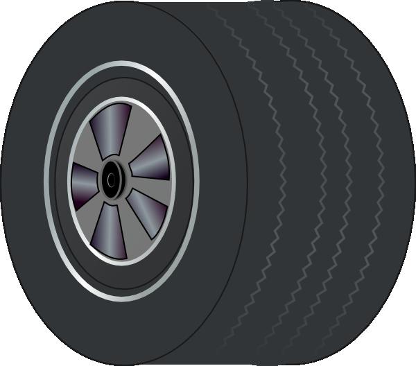 Car tire clipart clip transparent Fat Tire Clip Art at Clker.com - vector clip art online, royalty ... clip transparent
