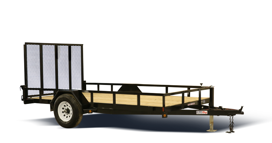 Car trailer clipart clip free library Liberty Industries - Dump, utility, and flatbed trailers clip free library