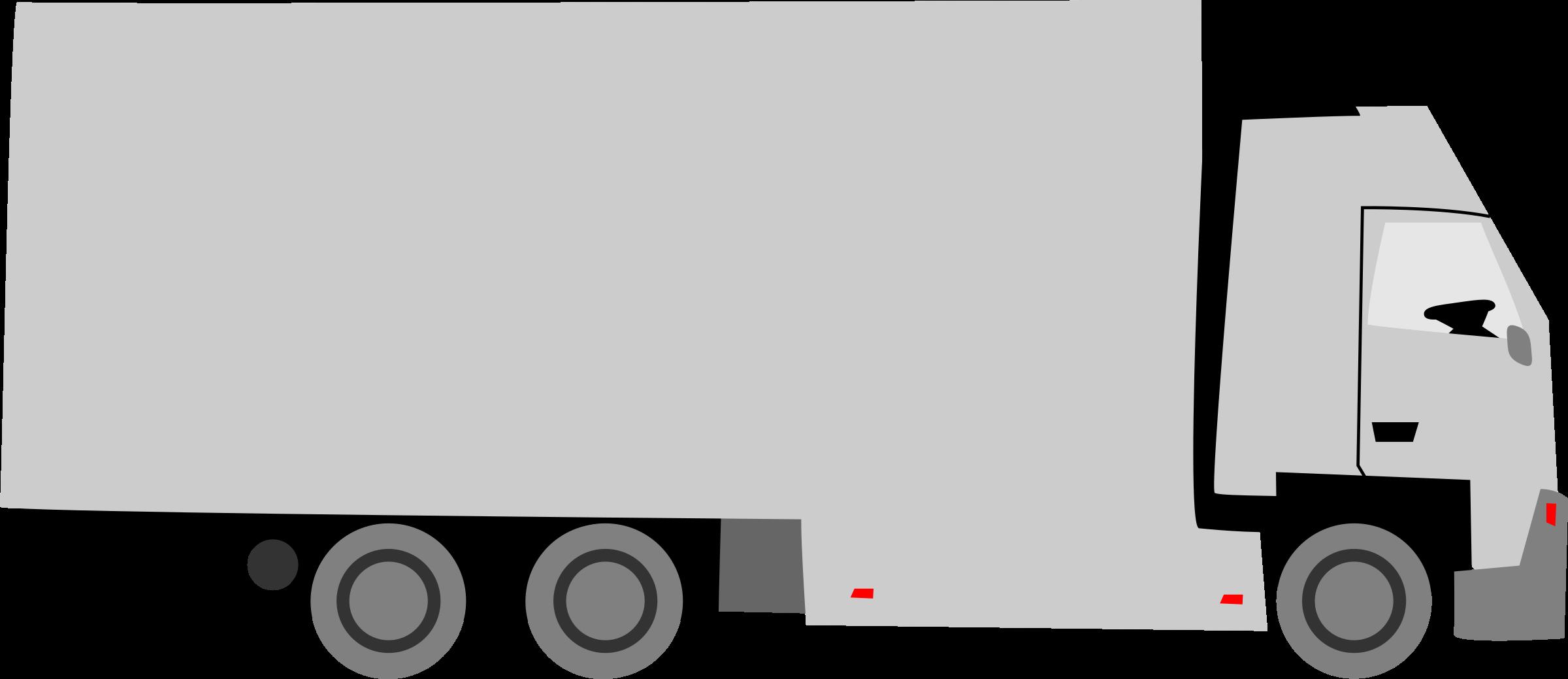 Car trailer clipart vector free Clipart - Truck vector free