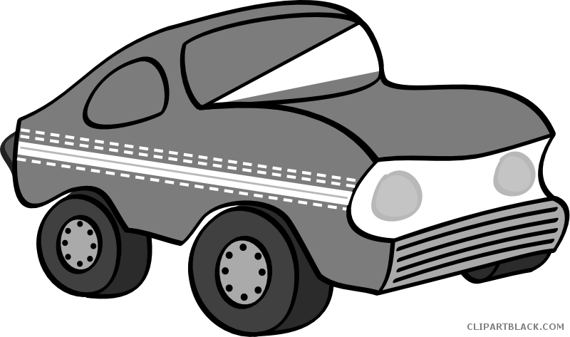 Car transportation clipart vector transparent library Grayscale Car Clipart - ClipartBlack.com vector transparent library