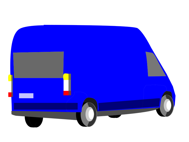 Car transporter clipart clip art freeuse Clipart - blue-transporter clip art freeuse