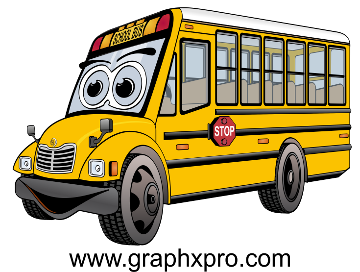 Car transporter clipart vector library download Pin by Scott Hayes on Bus Cartoons | Pinterest | Bus cartoon vector library download