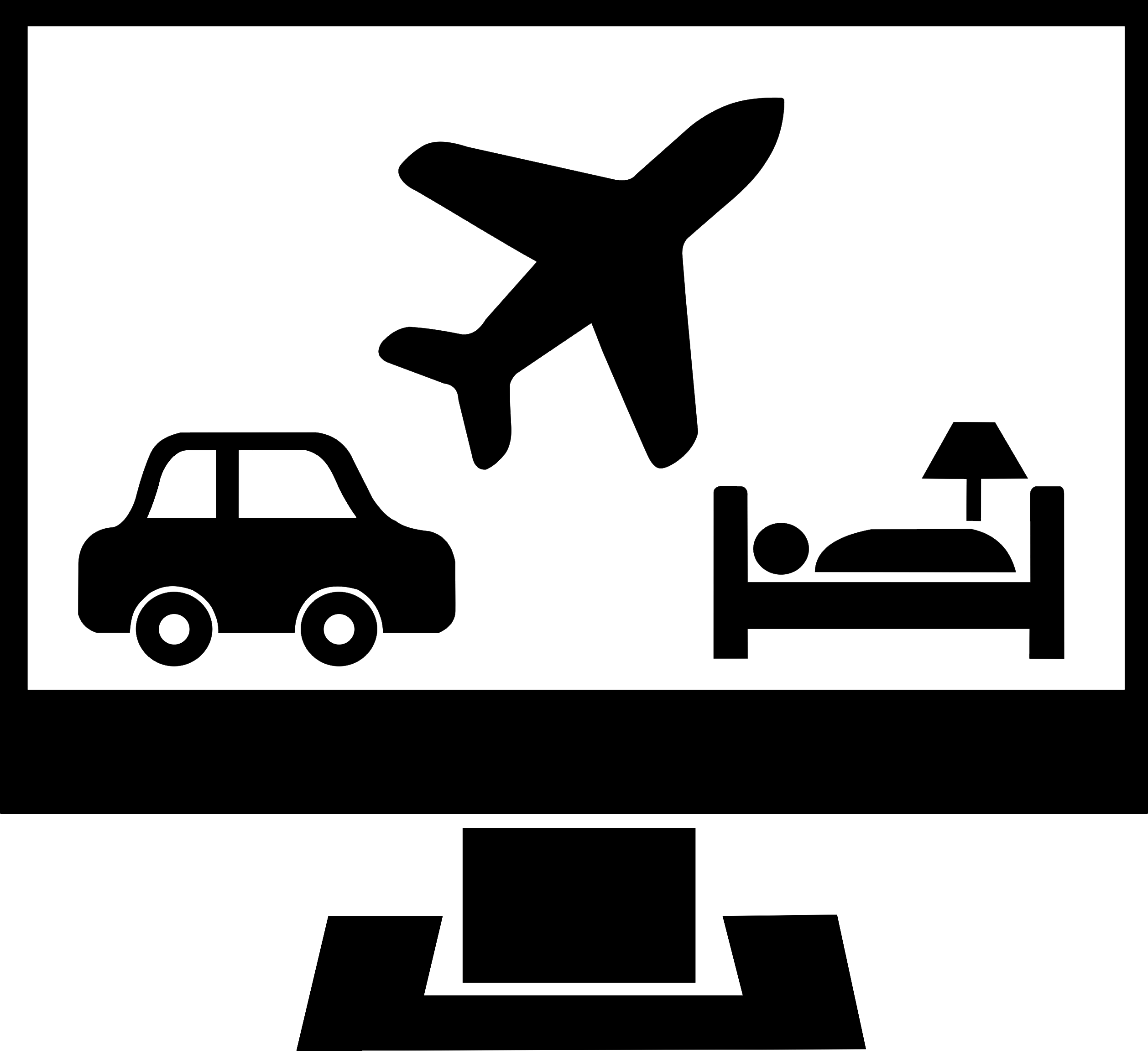 Car travel clipart picture free travel template picture free