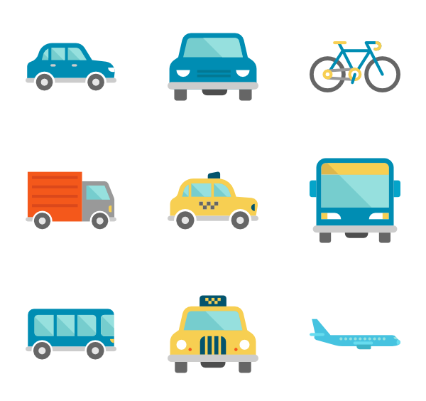 Car traveling clipart image library library Travel Icons - 17,239 free vector icons image library library