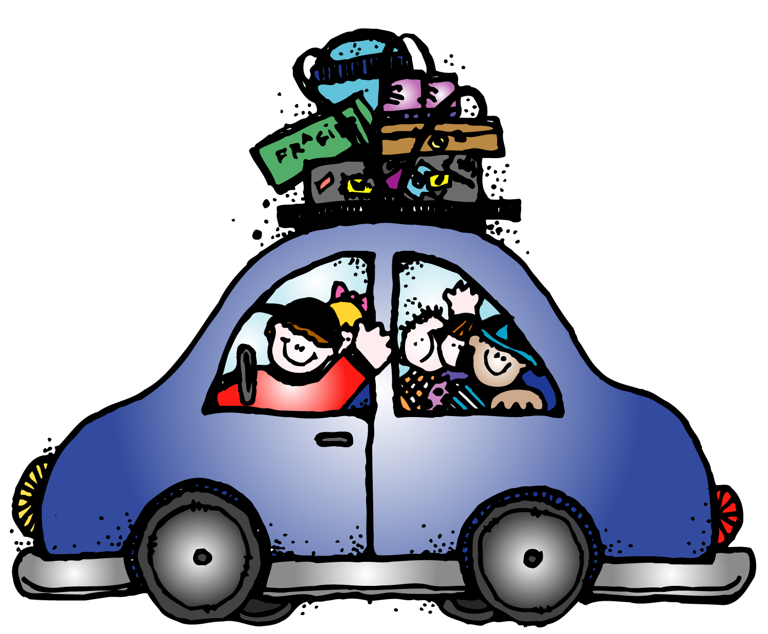 Car trip clipart clipart royalty free download Car trip clipart clipart royalty free download