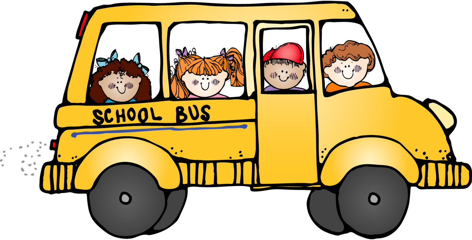 Clipart go to school banner black and white library 28+ Collection of Trip Clipart | High quality, free cliparts ... banner black and white library